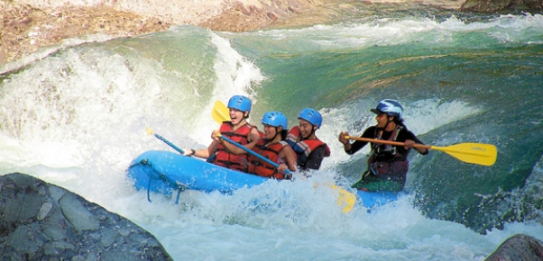 Rafting Cangrejal River