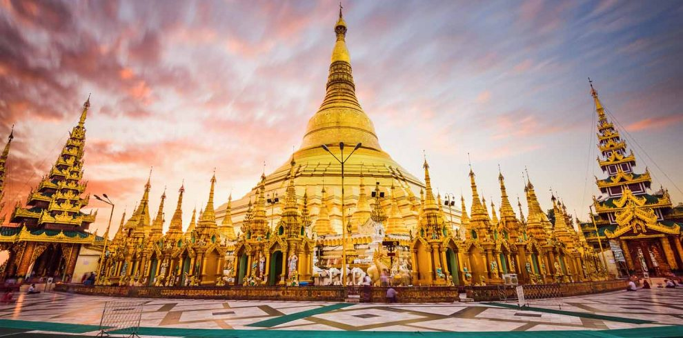 Shwedagon Pagoda of Myanmar